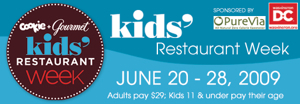 kidrestoweek2009 Kids Restaurant Week 2009: Chicago and New York