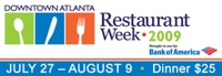 atlanta restaurant week1 Atlanta Restaurant Week: Dine on $25 Dinners Downtown