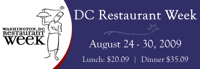 dc restaurant week Lets Eat: Washington, D.C. Restaurant Week Is Here