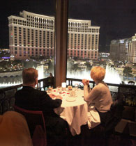 eiffel tower las vegas1 Top 50 Scenic Restaurants: How You See It