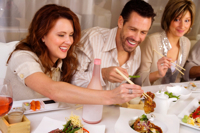 is your dining companion influencing Is Your Dining Companion Making You Overeat?