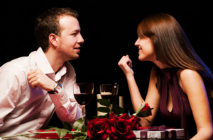 Dining out on Valentines Day 2010 Dining Out on Valentines Day Is Twice as Nice in 2010, Survey Says