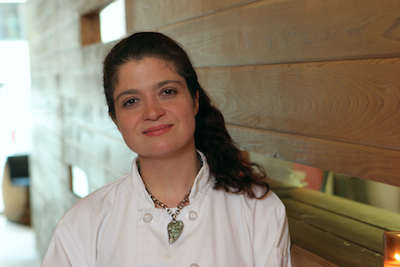 Alex Guarnaschelli Chef Alexandra Guarnaschelli on Dining at Restaurants with Children