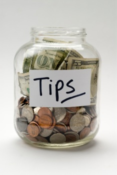 Tipping At Restaurants Takes A Hit Are Tip Jars To Blame