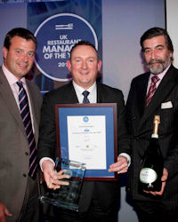 UK Restaurant Manager 2010 U.K. Restaurant Manager of the Year: Congratulations to David Hennigan