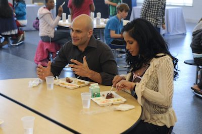 Sam Kass and Padma Lakshmi Top Chef D.C. Episode 2: The Proof Is in the Pudding
