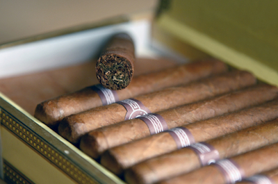 Special Spaces for Cigar Smokers UK Restaurants Serve Up Special Spaces for Cigar Smokers