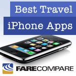 iphone badge Vote for OpenTable as Your Top iPhone Travel App on FareCompare.com