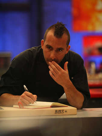 Marc Forgione Episode 2 Iron Chef The Next Iron Chef Episode 2: Marc Forgione on Bleeders, Breakfast, and Burgers