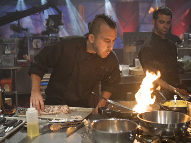 Iron Chef Finale Fire The Next Iron Chef Finale: Newest Iron Chef Marc Forgione Reflects on His Win