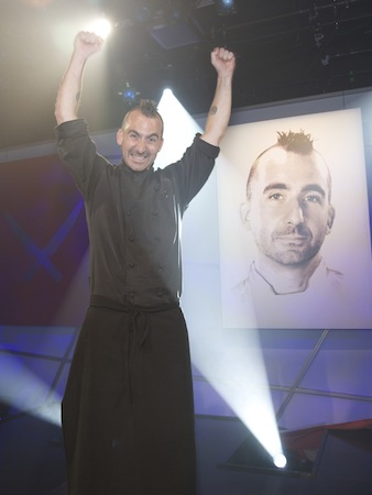 Iron Chef Finale Victory1 The Next Iron Chef Finale: Newest Iron Chef Marc Forgione Reflects on His Win
