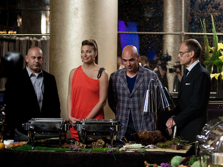 Next Iron Chef Episode 6 Judges The Next Iron Chef Episode 6: Chef Marc Forgione on Pressure and Pressure Cookers