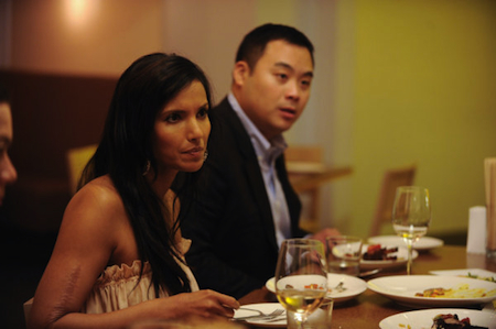Top Chef Season 8 Episode 3 Padma Top Chef Season 8 Episode 3: Gang of Four Sends Two Packing