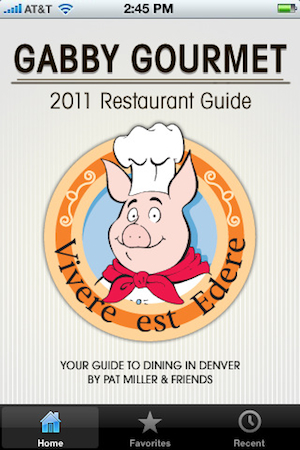 Gabby Gourment Mobile App Gabby Gourmet Guide Celebrates Denver Restaurant Week with New Mobile App