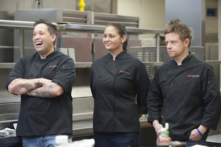 Mike Laughs Chef Ed Cotton Picks Winner of the Top Chef Finale, Reveals His Last Supper