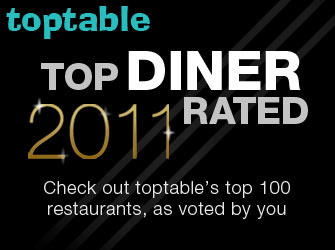 TopTable 2011 Best Restaurants 100 Best Restaurants in the UK: TopTables Top Diner Rated Restaurants Revealed