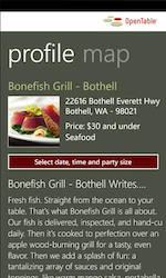 21 Windows Phone Mango: OpenTable Mobile Upgrades Are Here!