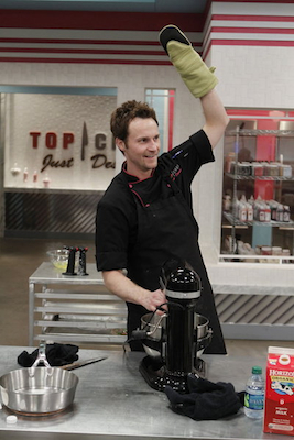 TCJD 2 8 Chris Top Chef Just Desserts Season 2 Episode 8: Laiskonis on Payard, Pie + Ceramic Pigs