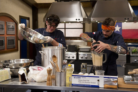 Top Chef Texas Episode 3 Chef Ed Honey Badger Hardy On