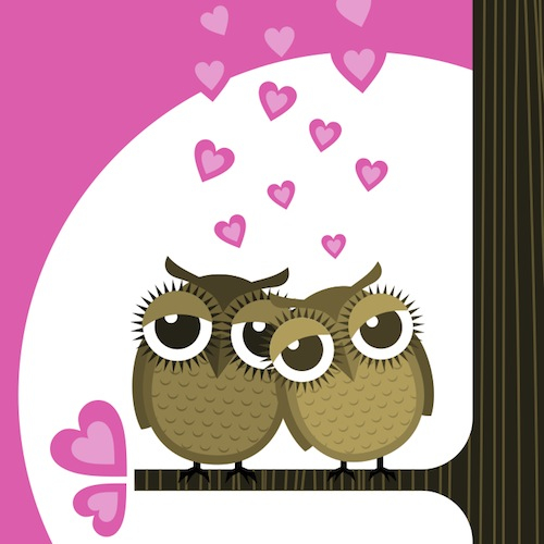 My Foodie Valentine Owls Enter to Win the OpenTable My Foodie Valentine Dinner for Two Giveaway!