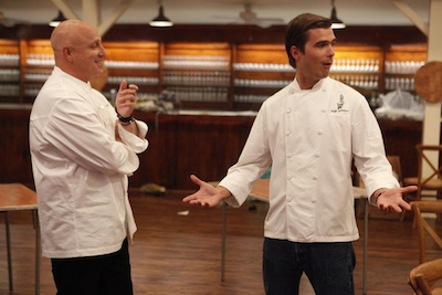 TCTexas 10 Tom Hugh Top Chef Texas Episode 10: Chef Ed Disco Pants Hardy on Restaurant Wars
