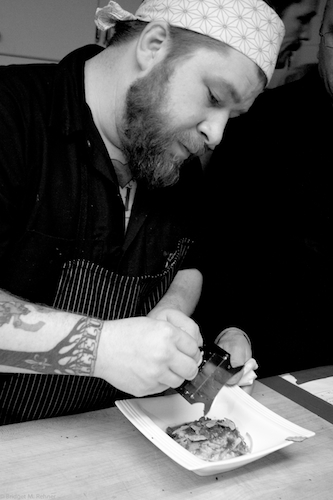 Chef Sawyer Cleveland Chef Jonathon Sawyer on Sensual Foods, Gluttony + Grower Champagne