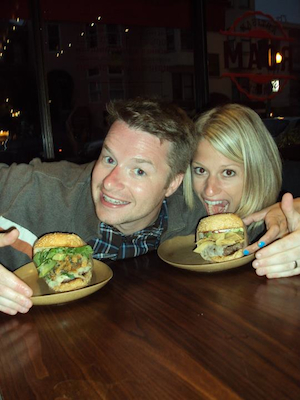 Heather and Rob And, the Next OpenTable 'My Foodie Valentine' Dinner for Two Giveaway Goes to…