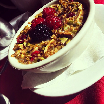 Dish Trip Glenn Kitchen Granola Dish Trip ATL: 48 Hours + 13 Restaurants with Mary Bigham + Amy Strauss, Part II