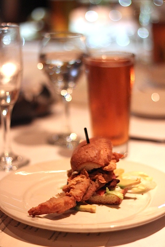 GW Fins Soft Shell Crab Po Boy Trending on Recent OpenTable Restaurant Reviews: Soft Shell Crabs