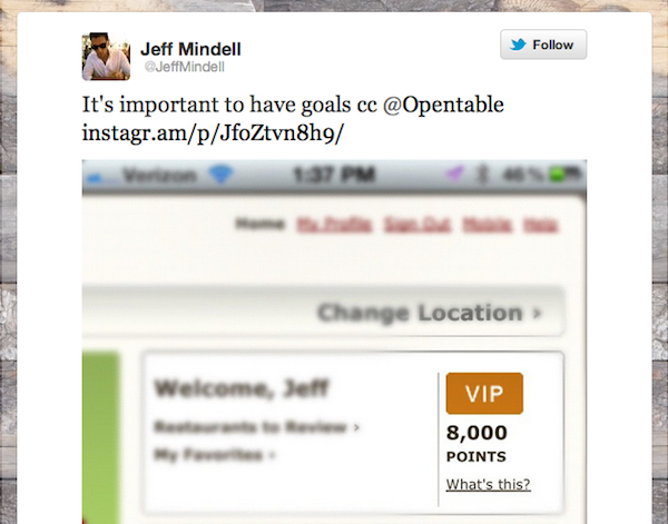 Tweet of the Week 042012 Tweet of the Week: Youve Gotta Have a Goal