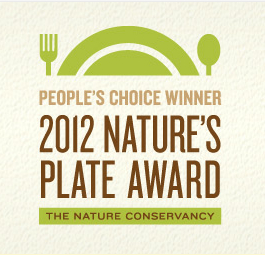 2012 Natures Plate Awards1 2012 Nature's Plate Award People's Choice Winners Announced