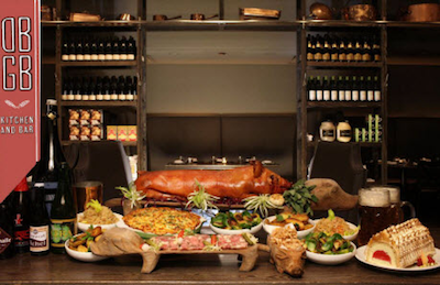 DGBG Pig Roast Score a Free Ticket to Chef Daniel Bouluds Summer Suckling Pig Feast at DBGB in NYC TONIGHT at 7PM!