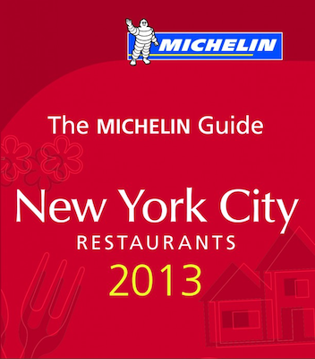 Michelin New York 2013 New York City 2013 Michelin Starred Restaurants Revealed: Reserve Now!