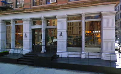 Top Chef Kitchen Exterior1 Postponed: Score a Reservation for 2 to Top Chef Kitchen in NYC for Tuesday, 10/30/12!