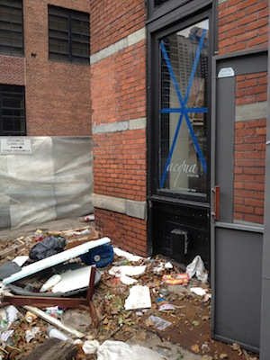 Acqua 2 Post Sandy Restaurant Recovery Stories: Acqua in Lower NYC Flooded, Rebuilding