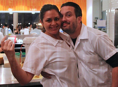 Top Chef Fabio Antonia blog Catching up with Antonia Lofaso + Fabio Viviani at Top Chef Kitchen by Bravo