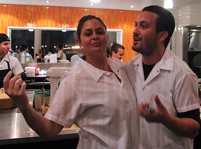 Top Chef Fabio Antonia2 blog1 Catching up with Antonia Lofaso + Fabio Viviani at Top Chef Kitchen by Bravo