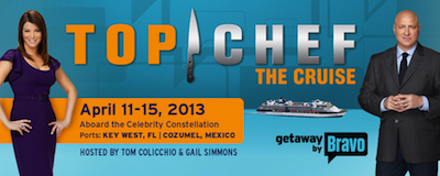 Top Chef The Cruise Ahoy, Foodies: Set Sail for Top Chef: The Cruise in Spring 2013!