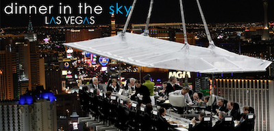 Dining in the Sky Best Cities for Foodies; Vegas Dining Goes to New Heights + More
