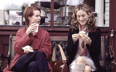 SATC cupcakes Foodies Are the New Fashionistas in NYC; Padmas Skinny Secret + More