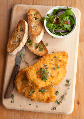 Schnitzel Trending on Recent OpenTable Restaurant Reviews: Schnitzel