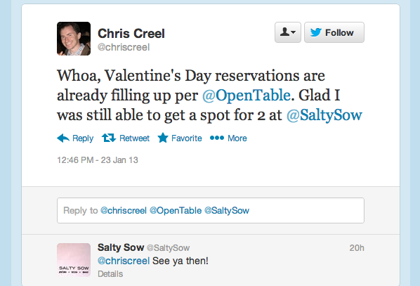 Tweet of the Week Tweet of the Week: Valentines Day Is on Its Way; Dont Delay!