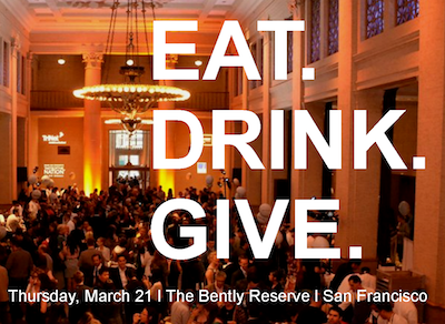 eat.drink .give  Attend Taste of the Nation San Francisco on Thursday, March 21, 2013!