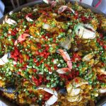 Brunch paella from the 94th Aero Squadron in Miami, Florida