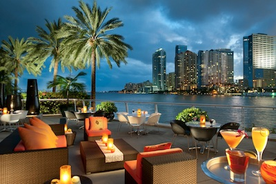 Cafe Sambal In Miami Florida Is A Top Outdoor Dining Spot