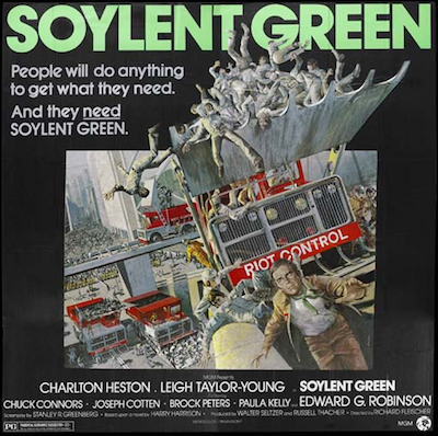Soylent Green Diners Gone Wild; Trends from the NRA; Soylent Green vs. Soylent +  More News