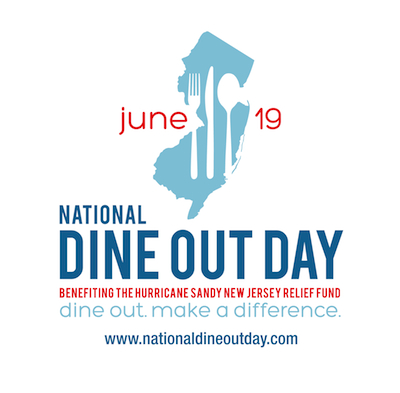 DOD Make a Reservation for National Dine Out Day on June 19th for Hurricane Sandy Relief