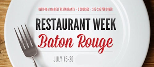 Baton Rouge Restaurant Week
