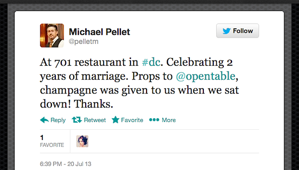 tweetofweek Tweet of the Week: A Special Request for a Special Second Anniversary Celebration