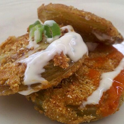 Fried Green Tomato1 Trending on OpenTable Restaurant Reviews: Fried Green Tomatoes